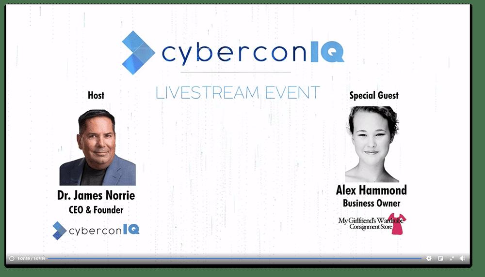 cyberconIQ - FB live Cyber criminals